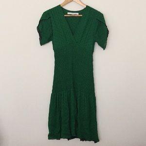 Silk Diane Von Furstenberg Knee Length Dress